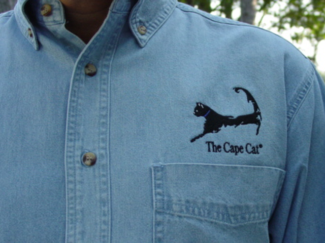Cape Cat Long Sleeve Denim Shirt