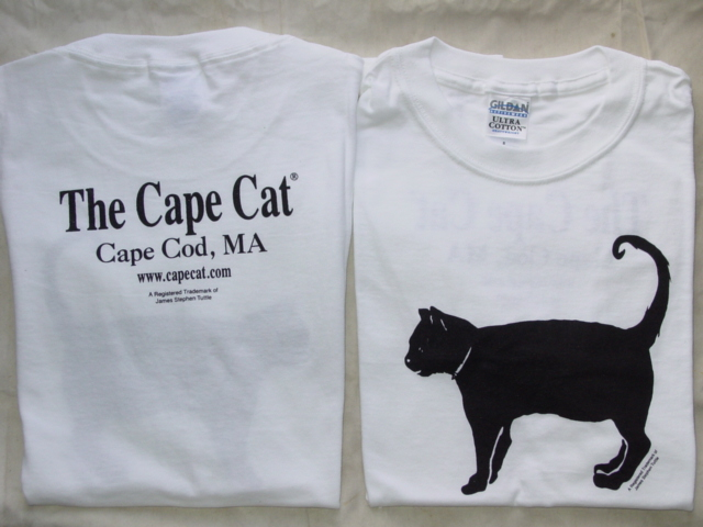 Cape Cat T-Shirt (Beach Sand Pure White)